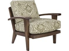 Ellen DeGeneres Hillcrest Wood Chair with Cane Back and Upholstered Seat by ED Ellen DeGeneres Crafted by Thomasville at Belfort Furniture Living Room Chairs, Living Room Furniture, Cane Back Chairs, Thomasville Furniture, Belfort Furniture, Wood Arm Chair, Chair Fabric, Seat Cushions, Accent Chairs