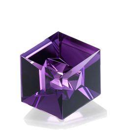 """Hexagonal"" amethyst 55.09 ct. / Tom Munsteiner                                                                                                                                                                                 More"