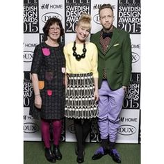 Thank you Mom and love @steffosteff for keeping me standing straight on that green carpet at the awards last night! Actually high heals is a really stupid invention, and I'm as stupid wearing them #EDSDA2015 #Elledecorationse #CamillaLundsten #Littlephant #edsda2015 #SwedishDesign #ScandinavianDesign #Interior #HomeDecor #Swedishfabrics