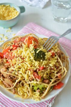 SUNNY MAMA'S COMFORT SPAGHETTI ● Snel klaar + boordevol groente, vitaminen en... troost.  Recept: http://hallosunny.blogspot.nl/2015/01/sunny-mamas-comfort-spaghetti.html