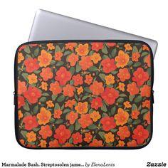 Marmalade Bush. Streptosolen jamesonii Pattern #ad