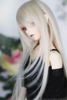 BJD CROBI WIG CRWML-80 (Milky Blond) | 総合ドール専門通販サイト - DOLKSTATION(ドルクステーション)