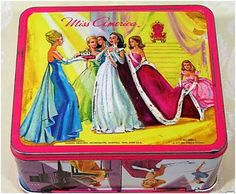 Miss America lunch kit..what I wouldn't give to have this lunch pail back!