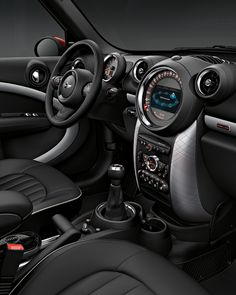 Rugged capabilities, refined interior. The well tailored interior of the MINI Countryman takes you anywhere in comfort and style.