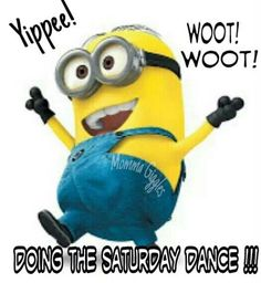 Saturday Dance... minion Despicable Me