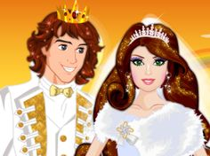 Play Princess Wedding on http://www.barbie-games.com/princess-wedding/ Every fairytale must have a happy end, and most of them end with a wedding. Today wedding bells a ringing for this marvelous princess and her handsome prince! As a royal stylist, you should help them look magnificent. Pick the most beautiful wedding outfits and accessories for this royal couple!