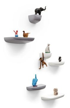 Corniches Small Wall Mounted Storage by Ronan & Erwan Bouroullec for Vitra -