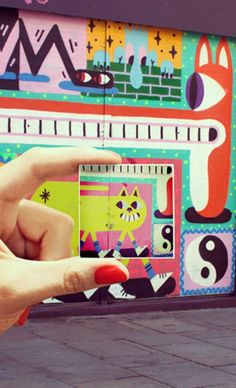 Make magnets from your Instagram, camera-roll or desktop. A nice idea for an inspiration board... And they do free delivery worldwide.