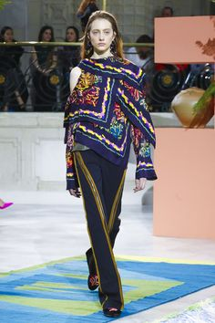 Peter Pilotto Ready To Wear Fall Winter 2017 London