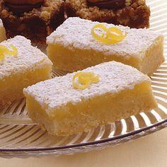 Lemon bars- similar to my original Craft Connection recipe...
