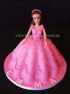 Love the dress. Barbie Cake