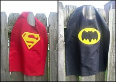 Serving Pink Lemonade: Templates for a superhero cape as well as the logos for superman and Batman. She also has a princess crown template for girls! Sewing For Kids, Diy For Kids, Gifts For Kids, Superhero Cape Pattern, Cape Tutorial, Diy Tutorial, Diy Cape, Batman Cape, Superhero Capes