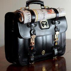 Briefcase. Modern day vintage.