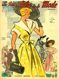 Le Petit Echo de la Mode juin 1949