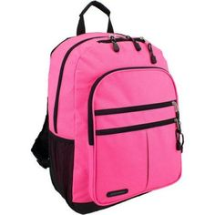Eastsport Future Tech Backpack with Fully Padded Electronic Storage Pocket, Pink