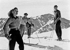 Skifahren damals ---- Vintage skiing