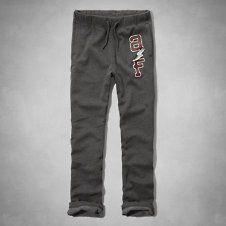 girls a&f classic sweatpants