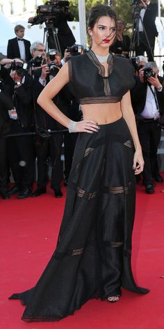 The Best of the 2015 Cannes Film Festival Red Carpet - Kendall Jenner from #InStyle