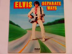 "Elvis Presley - Separate Ways - Country - R& B - ""Always on My Mind"" - Original Release RCA Camden 1973 - Vintage Vinyl LP Record Album"