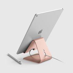 elago P4 Stand for iPad Pro, iPad air, iPad, iPad mini & Tablet PC - Rose Gold. (Apple Tech Ipad Air)