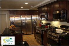 Gourmet kitchen in the Genesis house California Home Builders