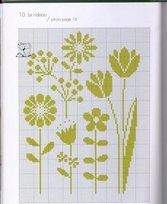 un solo color Cross Stitch Love, Cross Stitch Borders, Cross Stitch Flowers, Modern Cross Stitch, Cross Stitch Designs, Cross Stitch Patterns, Crochet Cross, Crochet Chart, Cat Cross Stitches