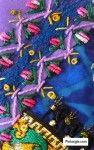 Bullion knot stitch sample 8