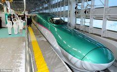 E5 Series Japanese bullet train -