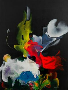 "Saatchi Online Artist: Gulten Imamoglu; Acrylic, Painting ""SAHYA"""