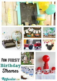 Fun First Birthday Themes