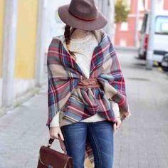 Spotted while shopping on Poshmark: Zara plaid blanket scarf.! #poshmark #fashion #shopping #style #Zara #Accessories
