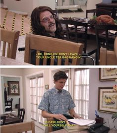 Arrested Development My favorite episodes are where Tobias is sick from his hair plugs. Literally the best.