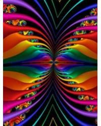A rainbow fractal Colors Of The World, All The Colors, Vibrant Colors, Taste The Rainbow, Over The Rainbow, Fractal Design, Fractal Art, Kaleidoscope Art, Wow Art
