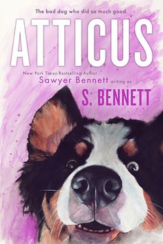 ** COVER REVEAL ** Atticus by Sawyer Bennett - Lili's Books