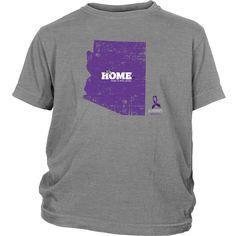 Arizona - Boys Junior Alzheimer's Support Tee