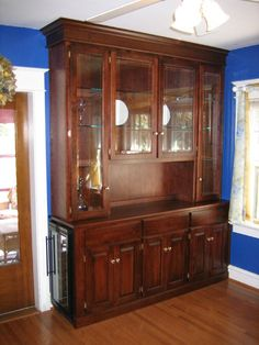 Pattersons Woodworking Built In Hutch