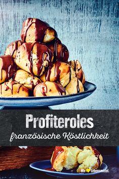 Wer sie einmal probiert hat, kann die Finger nicht mehr davon lassen: Unser Profiteroles-Rezept zeigt dir, wie du die französische Köstlichkeit selbst zubereiten. Dafür sind wenige Zutaten, aber jede Menge kulinarisches Geschick nötig! edeka #kulinarisch #französisch #profiteroles #rezept