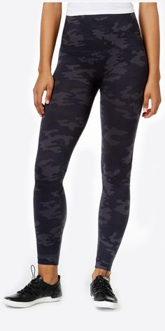 Spanx Look at Me Now BlackCamo Seamless Leggings: Rock and roll meets everyone's favorite shapewear.