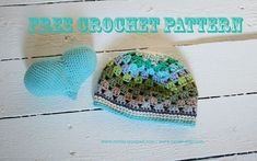 FREE crochet pattern baby hat REV style