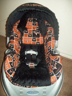 Texas Longhorns Cowboys Baby Car Seat Cover by jennirolli5 on Etsy, $70.00