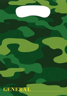 Camo Loot Party Bags