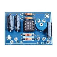 This kit was developed as a pre-module for a number of audio applications where there is insufficient input signal. Ideal for use as a microphone pre-amplifier or for level correction. Output level is adjustable with up to 40 dB of gain. #microphone #kit #pre-amplifier #electronics #velleman