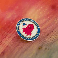 tiny planet explorer federation - pin badge available at…