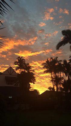 unique sunset.