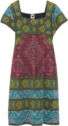M Missoni Crochet-knit cotton-blend dress on shopstyle.co.uk