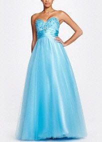 This kind of looks like Quinn's prom dress. It's cute!