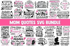 Funny mom SVG bundle, svg designs by CrystalGiftsStudio on Mom Quotes, Funny Quotes, Illustration Courses, Baby Svg, Cheer Mom, Parenting Styles, Photoshop Design, Silhouette Designer Edition, Mom Humor