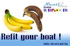 refit your boat with nautisun Yacht Boat, Banana, Fruit, The Fruit, Bananas