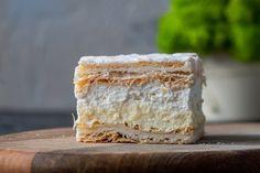 Polish Desserts, Fancy Desserts, Polish Recipes, Frozen Desserts, Cookie Desserts, Polish Food, French Puff Pastry, German Cake, Cake Recipes