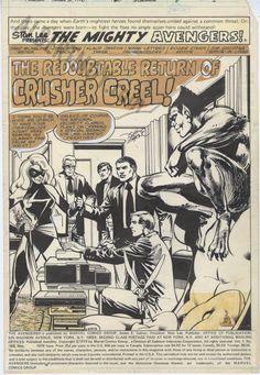 John Byrne • Klaus Janson Comic Book Pages, Comic Books, John Byrne, Jack Kirby, Comic Art, Comics, Memes, Meme, Cartoons